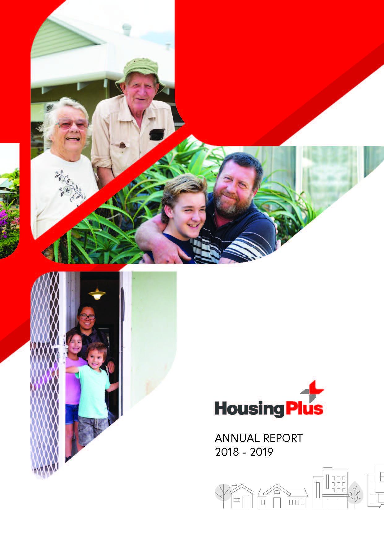 Housing Plus Annual Report 2018 - 2019
