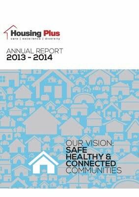 Housing Plus 2013 – 2014 Annual Report