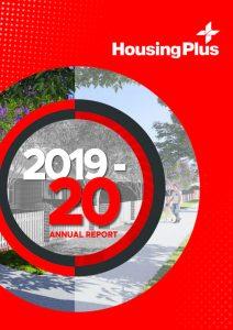 HousingPlus Annual Report 2019-2020 cover image